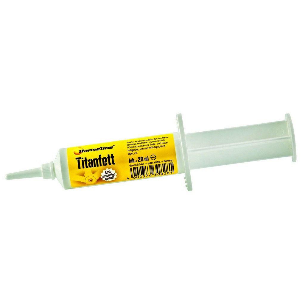 Смазка титановая Hanseline Titanfett 20 мл (ST)