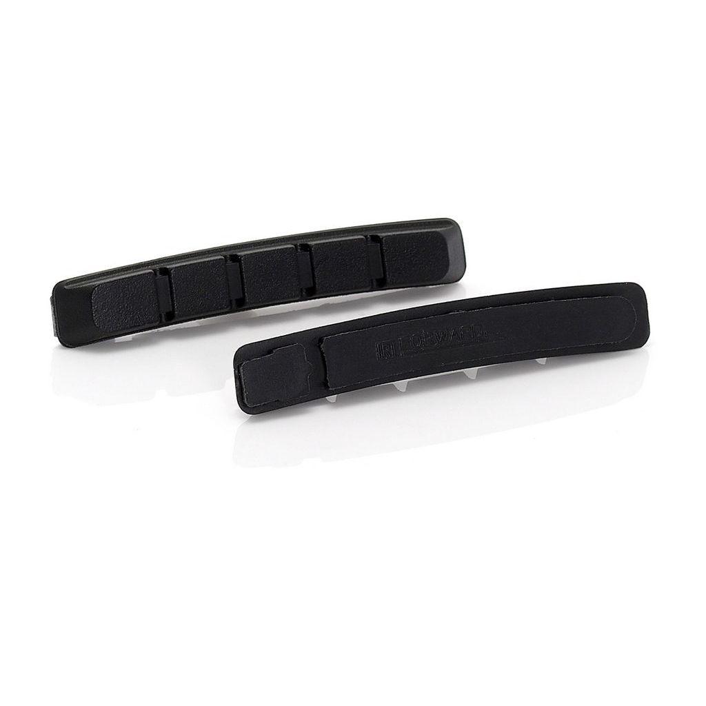 Сменные картриджи для V-Brake XLC RP-V01, 4 шт, чёрные (ST)