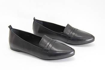 Туфли лоферы женские BURC 4039-siyah