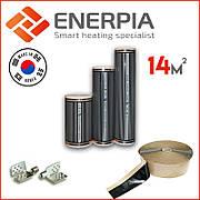 """Інфрачервона тепла підлога 14м² """"Enerpia"""" (Корея) Нагрівальна плівка"""