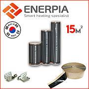 """Інфрачервона тепла підлога 1м² """"Enerpia"""" (Корея) Нагрівальна плівка"""