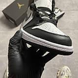 Nike Air Jordan 1 Darck Mocha (Белый Коричневый), фото 2