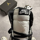 Nike Air Jordan 1 Darck Mocha (Белый Коричневый), фото 4