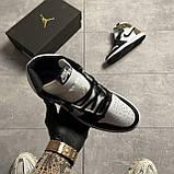 Nike Air Jordan 1 Darck Mocha (Белый Коричневый), фото 6