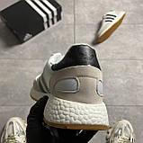 Adidas Iniki Grey White (Сірий), фото 3