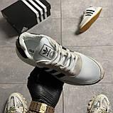 Adidas Iniki Grey White (Сірий), фото 6