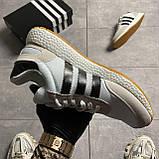 Adidas Iniki Grey White (Сірий), фото 9