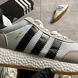 Adidas Iniki Grey White (Сірий), фото 8