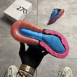 Nike Air Max 270 South Beach (Синий), фото 4