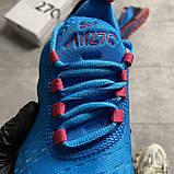 Nike Air Max 270 South Beach (Синий), фото 9