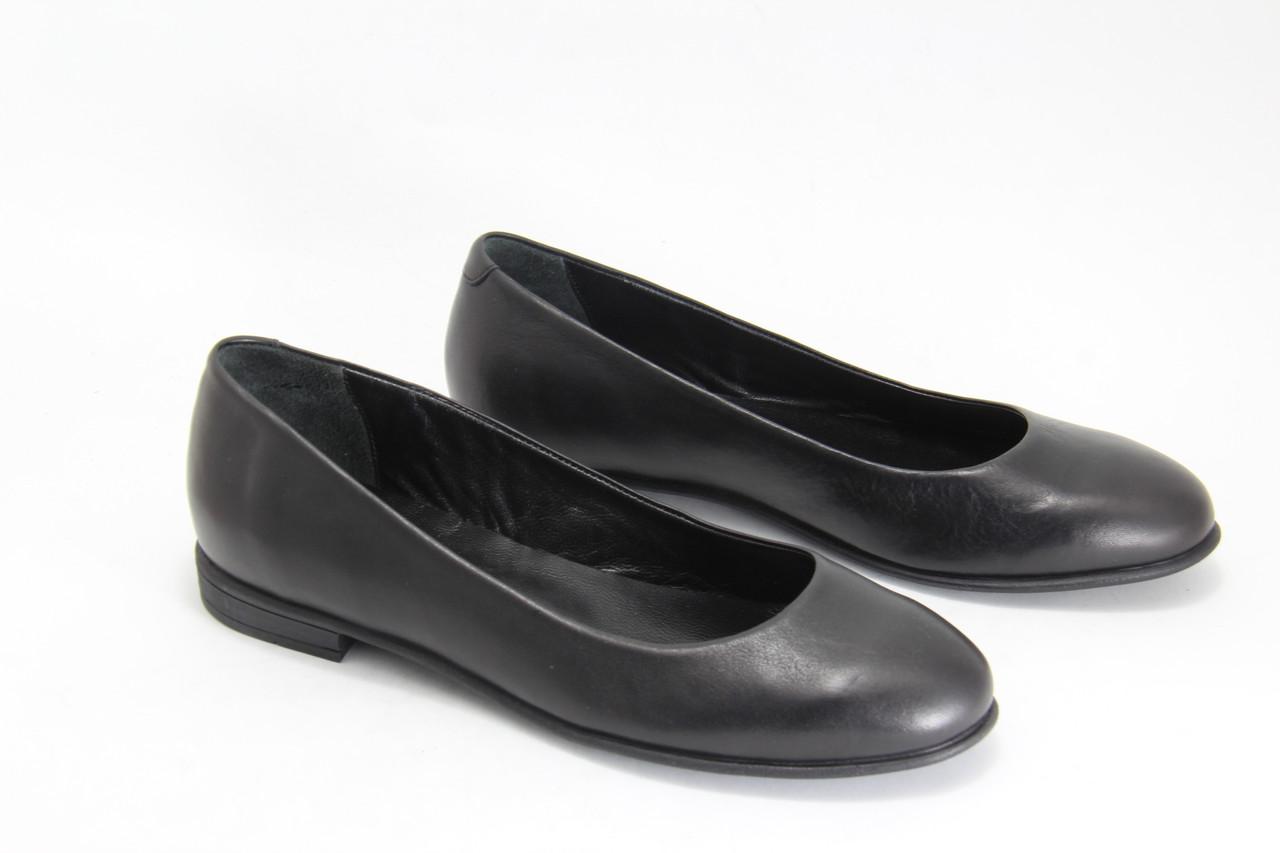 Туфлі жіночі на низькому ходу BURC 4007-siyah