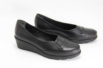 Туфлі жіночі на танкетці BURC 4056-siyah