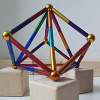 Магнитный конструктор палочки и шарики