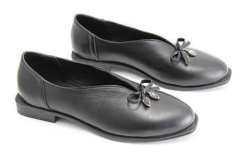 Туфли женские на низком каблуке GUERO P133-557-010