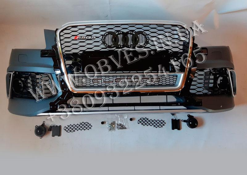Передний бампер Audi Q5 стиль Audi RSQ5
