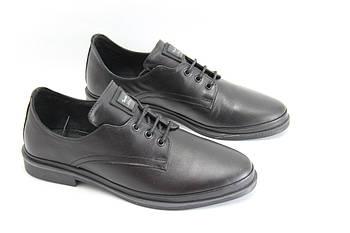 Туфли женские на низком каблуке GUERO P198-1162-20