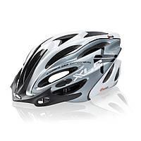 Велошлем детский XLC Fuego бело-серый L/XL (58-62) (ST)