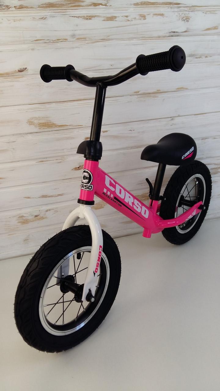 """Велобіг від Беговел """"CORSO"""", надувні колеса 12 дюймів 36906"""