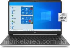 Ноутбук HP Notebook 15.6 8/256GB, i7-1065G7 (15-dy1071) Silver (Гарантия 12 мес)