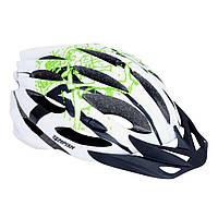 Шлем для роликов и скейта Tempish STYLE, бело-зеленый (AS)