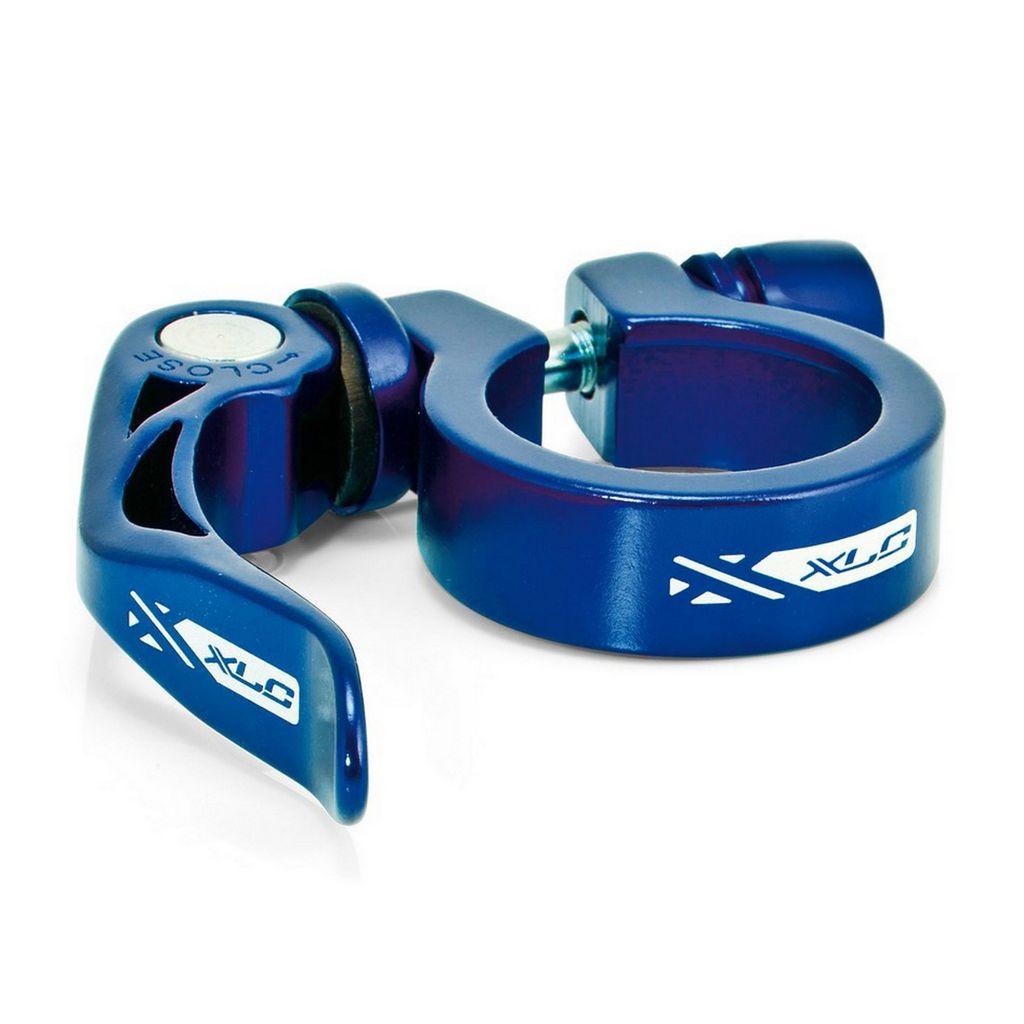 Эксцентриковый зажим для подседельной трубы 34, 9 мм, PC-L04, синий (ST)