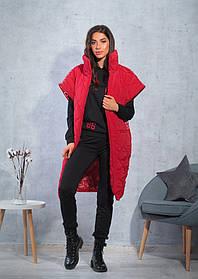 Стеганая женская куртка 47-2314