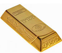 Зажигалка карманная слиток золота (острое пламя)
