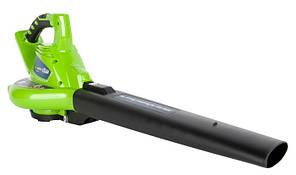 Повітродувка-пилосос акумуляторна Greenworks GD40BV (без АКБ, 40)