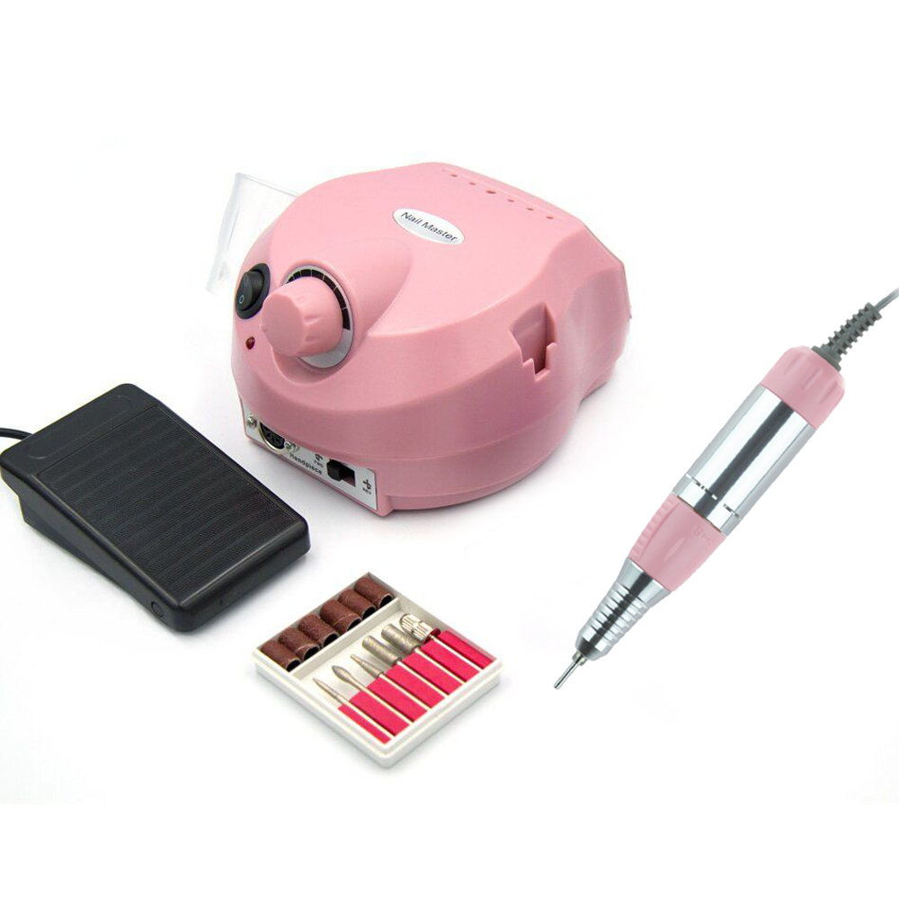 Фрезер для маникюра Drill pro zs-601 65 Вт 35 000 об, Dm 202 Розовый
