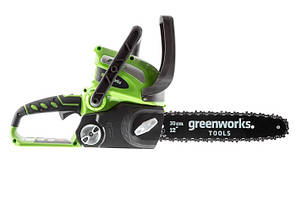 Цепная пила аккумуляторная Greenworks G40CS30 (40 В, без АКБ)