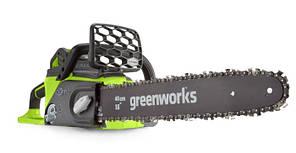 Цепная пила аккумуляторная Greenworks GD40CS40K4 (40 В, 4 А*ч)