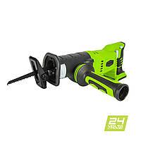Пила шабельна акумуляторна Greenworks G24RS (без АКБ, 24 В)