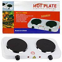 Електро-плита кухонна HOT PLATE 2000W дві конфорки