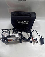 Компрессор Ураган 12052  150psi/15Amp/40л/прикур.+ перех/ автостоп