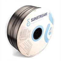 Крапельна стрічка Sunstream 6mil крок 20см витрата 1,8л/год довжина 2800м Щільовидна