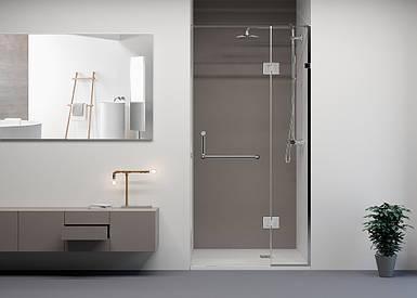 Душевые двери Weston W 023 Shower doors 90х200 прозрачные