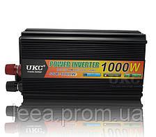 Інвертор перетворювач UKC 12V-220V 1000W