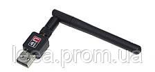 USB Wi-Fi адаптер 150Мб 802.11 n з антеною