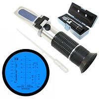 Рефрактометр тестер антифризу теплоносія електроліту AdBlue ATC RZ115