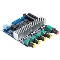 Аудіо підсилювач потужності звуку 2.1 ch 2х50Вт+100Вт Bluetooth 5.0 TPA3116
