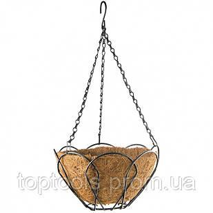 Підвісне кашпо, 30 см, з кокосовою кошиком Palisad