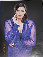 Блуза з натурального шифону, фото 1