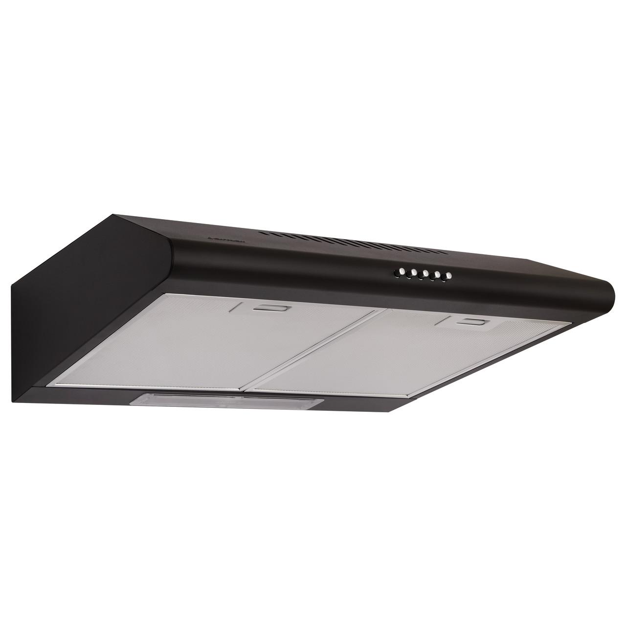 Витяжка кухонна купольна JANTAR PH I LED 50 BL (чорна)