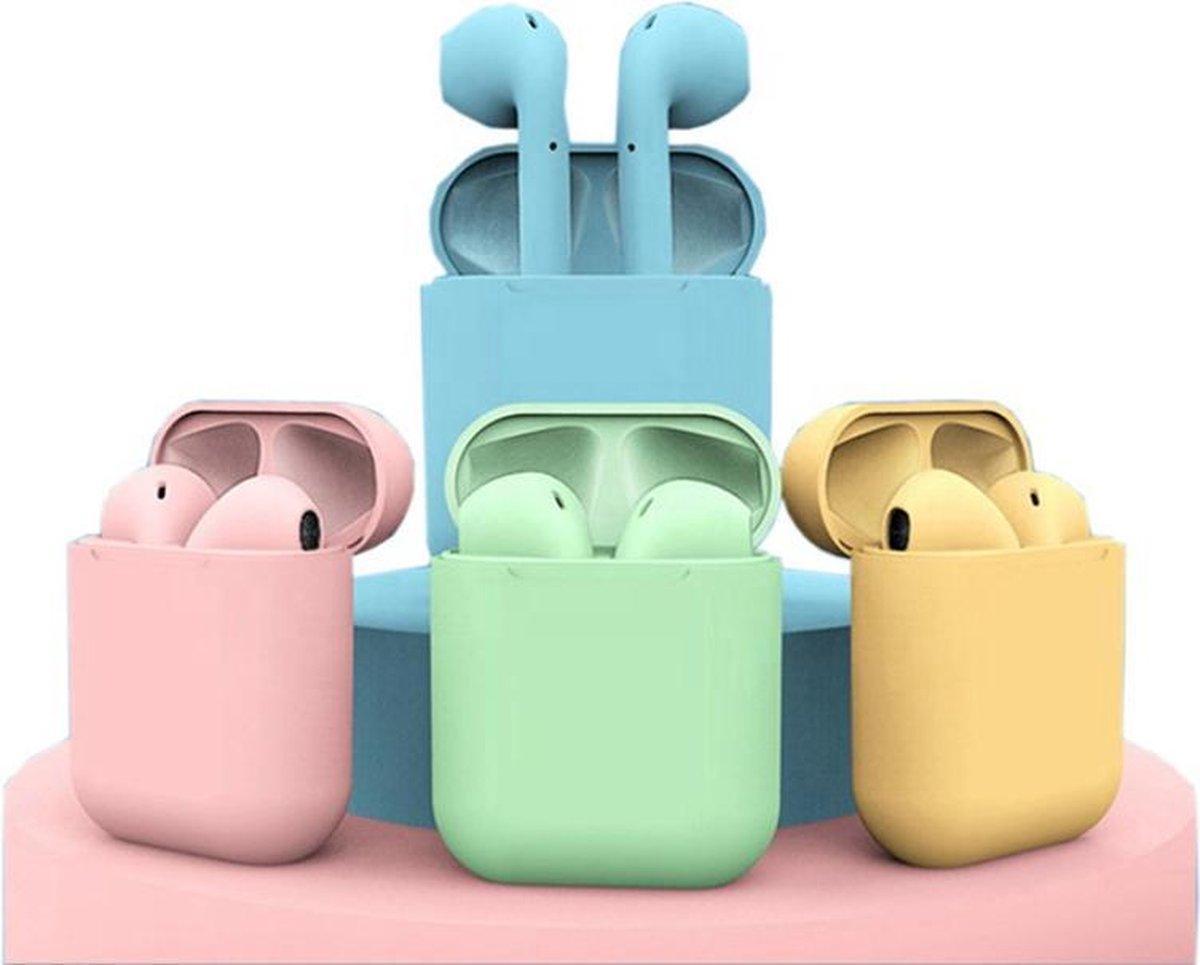 Мини-наушники i12 MINI TWS, беспроводные наушники без привязки к цвету