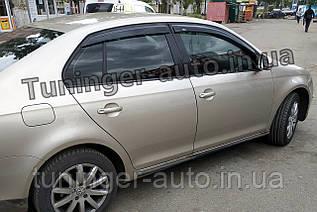 Ветровики, дефлекторы окон Volkswagen Jetta 2005-2011 (Hic)