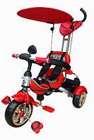 Велосипед детский 3-х колесный с ярким дизайном MarsTrike анимэ красный