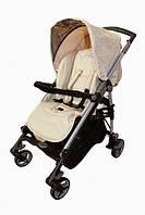 Детская коляска прогулочная Carita beige бежевый