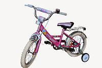 Детский велосипед облегченный Марс 14 розовый