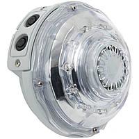 Гидроэлектрическая, настенная лампа Intex 28504, подсветка для джакузи. Работает от фильтр-насоса
