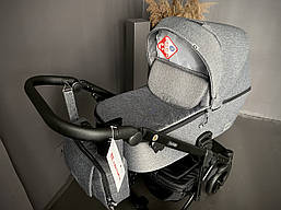 Детская универсальная коляска 2 в 1 Adamex Olivia Q3